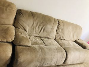 2 Two seater recliner sofa for Sale in San Jose, CA