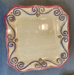 "4 Medici 8"" Squar Plates for Sale in Normandy Park,  WA"