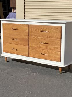 Vintage Refinished Long Dresser By LA Period Furniture for Sale in Chula Vista,  CA