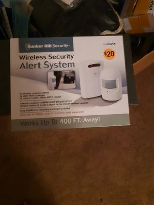 Bunker Hill security Alert system for Sale in Knightdale, NC