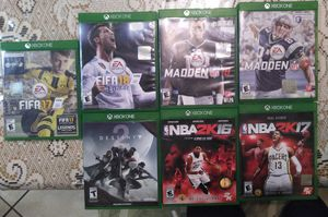 XBox One Game Lot for Sale in Bakersfield, CA