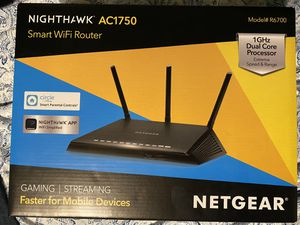 Nighthawk AC1750 1GHz Dual core Processor Router for Sale in Austin, TX