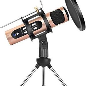 REMALL Recording Microphone for Podcasting, Condenser Microphone with Voice Changer for Live Streamer, Singing Mic for for Sale in Oshkosh, WI