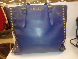 MIU MIU TWO WAY BAG for Sale in Tampa, FL