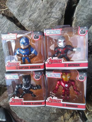 Marvel Avengers - MetalFigs - 100% die-cast metal for Sale in Castro Valley, CA