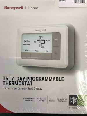 Honeywell T5 7-Day Programmable Thermostat for Sale in South Daytona, FL