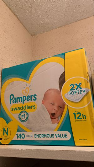 Pampers (newborn) for Sale in Houston, TX