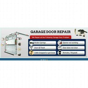 Cheap Garage doors & repairs!!! for Sale in Houston, TX