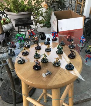 X-men, Spider-Man, fantastic four, & other figurines. Make offer for Sale in Modesto, CA