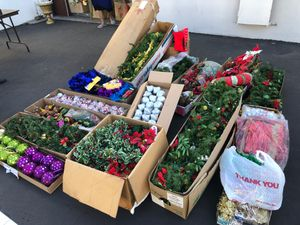 Christmas lot decor for Sale in Santa Ana, CA