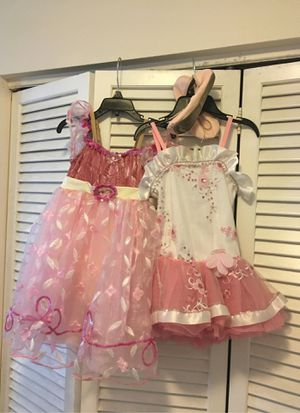 2 ballet leotards/ dresses / tutu and shoes for Sale in Miami, FL