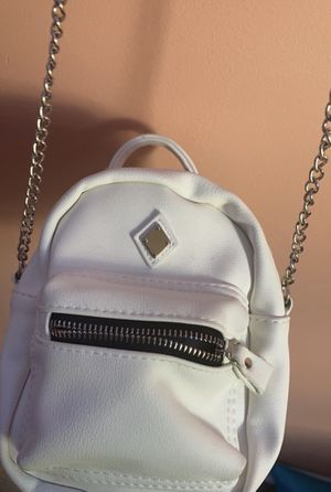 White mini backpack purse for Sale in Ashburn, VA