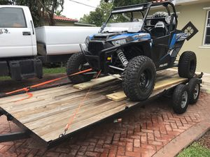 Utility trailer / car hauler * with papers for Sale in Medley, FL