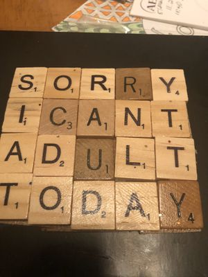 Sorry I can't adult today coasters for Sale in Glendale, AZ