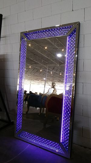 Color Changing LED Large Mirror for Sale in Dallas, TX