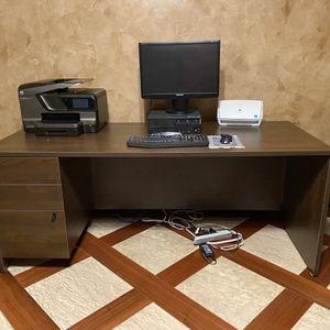 Home Office Desk & Filing Cabinet for Sale in Sarasota, FL