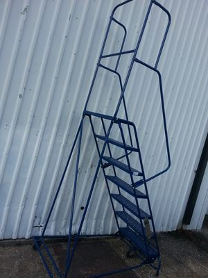 Warehouse ladder for Sale in Houston, TX