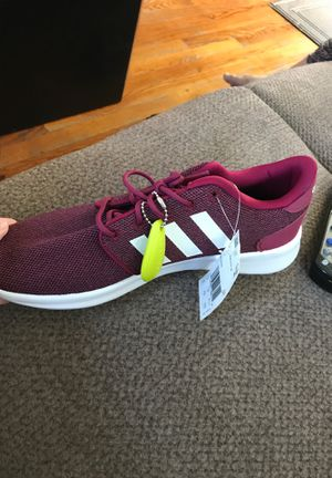 Cash only $45 Adidas Neo Burgundy shoes. 100% new, never used. Size 9 in women's for Sale in Dearborn Heights, MI