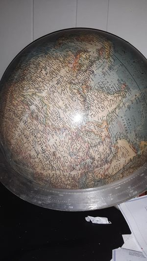 Vintage classroom globe for Sale in Alexandria, LA