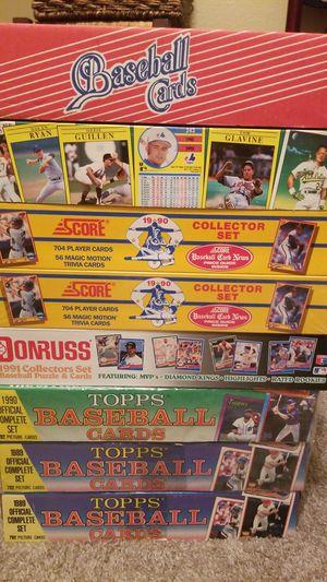 1989-1990 MLB complete sets for Sale in Chandler, AZ