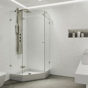 Shower doors 3/8 thickness glass for Sale in Houston, TX