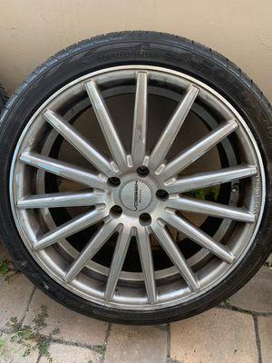 """Vossen 19"""" wheels VF2 5x114.3 for Sale in Hialeah, FL"""