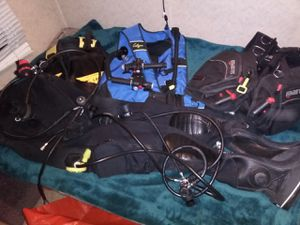 Assorted diving gear for Sale in Seattle, WA