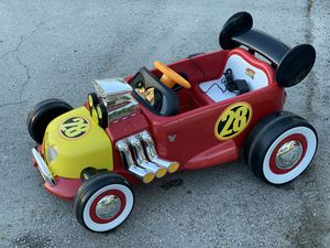 Disney Mickey Roadster Racer 6-Volt Battery Powered Ride on by Huffy for Sale in Plantation, FL