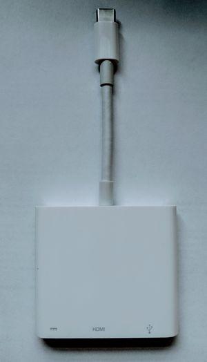 Apple USB-C Digital AV Multiport Adapter Pre-Owned for Sale in Annandale, VA