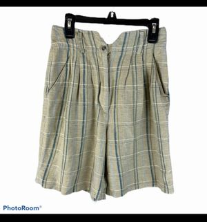 Women's The Limited linen high wasted shorts size 2 for Sale in Surgoinsville, TN