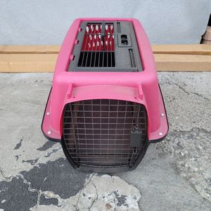 """19"""" Portable Pet Travel Carrier Crate Tote Box Plastic Cat Small Dog Cage Kennel for Sale in Los Angeles, CA"""