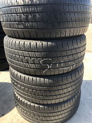 Bridgestone duelers 285/45/22 set of 4 tires for Sale in Stockton, CA