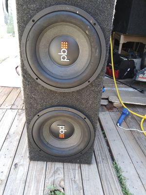 "12"" Powerbass subwoofers for Sale in Denver, CO"