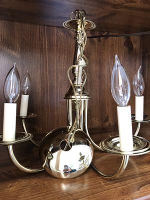 Brass chandelier for Sale in Revere, MA