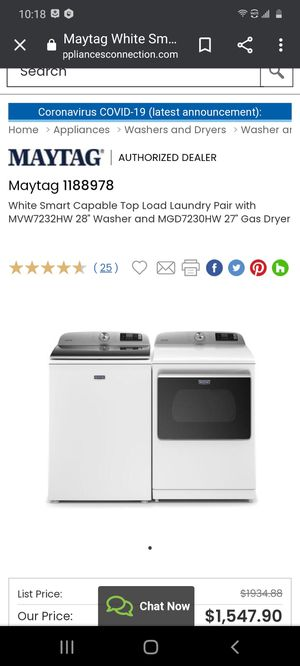 Maytag Washer and Dryer set for Sale in Wichita, KS
