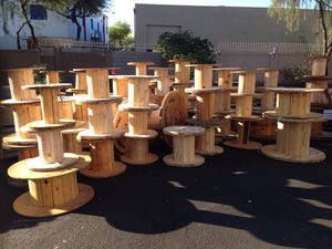 Wooden spools and pallets for Sale in Phoenix, AZ