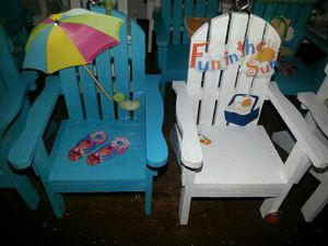 Little Beach Chair Ornaments for Sale in Madison Heights, VA