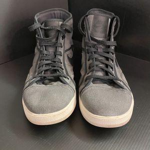 Nike Air Jordan SkyHigh OG Men's Trainers 819953-011 Black/ Gray Canvas/ Sail, US 13, UK 12 EU 47.5 for Sale in San Jose, CA