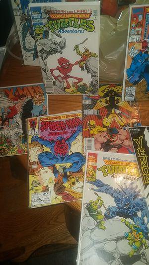 Perfect condition original comics Spiderman batman xmen deadpool for Sale in Modesto, CA