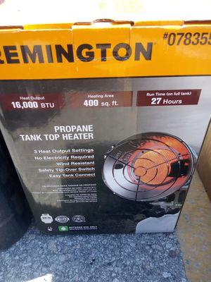 Propane tank top heater for Sale in Tampa, FL