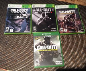 Call of Duty 4 games! for Sale in Puyallup, WA
