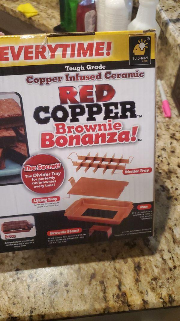 Red copper brownie bonanza