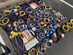 Range and Dishwasher power cords/Gas and Waterline Hoses/Adapters/Airgap/Copper Line for Sale in Richmond, CA