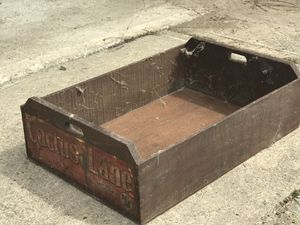 Antique bottle box for Sale in Chardon, OH