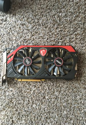 Gaming G series graphics card for Sale in Charter Township of Berlin, MI