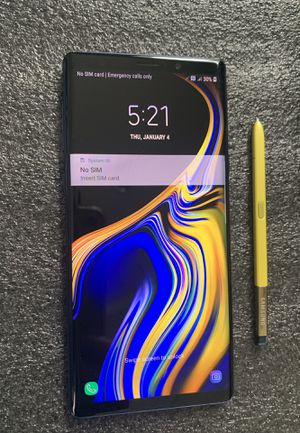 Samsung Galaxy Note 9 (128GB) Unlocked, Liberado for Sale in Los Angeles, CA