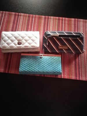 Women wallets all 3 for $12 for Sale in Phelan, CA