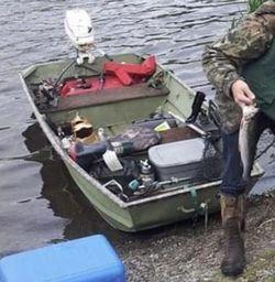 10 Foot Jon Boat 3hp Motor for Sale in Renton,  WA