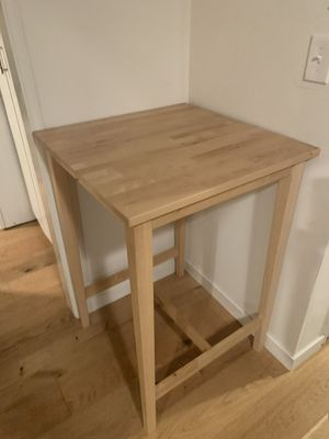 IKEA birch bar table for Sale in Oakland, CA