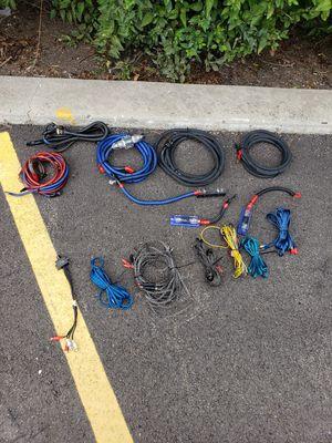 Car audio wires for Sale in Wauconda, IL